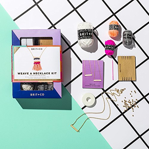 Do-it-Yourself Weave a Necklace Kit by DIY