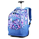 High Sierra Chaser Wheeled Laptop Backpack, Shine Blue/Lapis