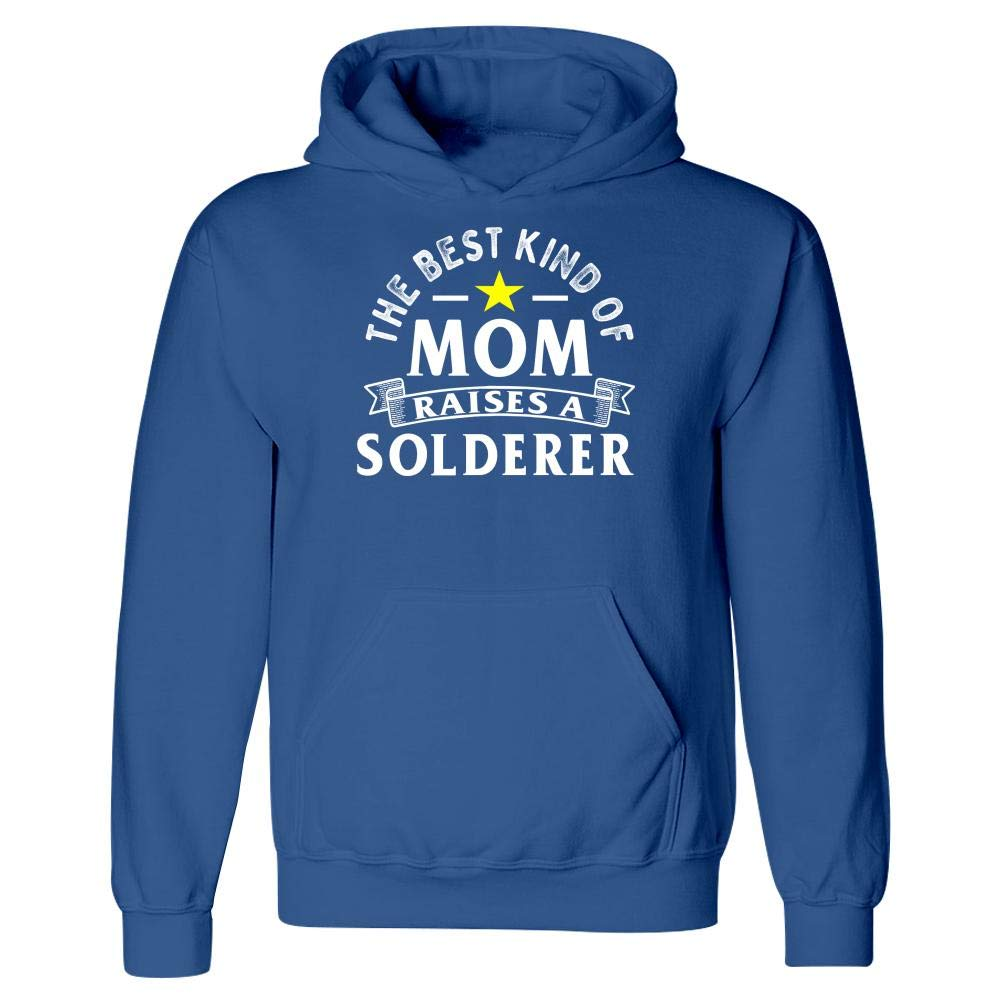 The Best Kind of Mom Raises A Solderer Hoodie