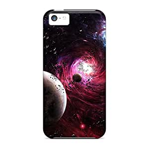 New Style Charejen 3d Space Premium Tpu Cover Case For Iphone 5c