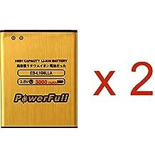 2 pcs/lot PowerFull EB-L1G6LLU Premium Quality Battery Replacement EB-L1G6LLA 3000 mAh High Capacity For Samsung Galaxy S3 SGH-I747