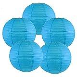 Just Artifacts Set of 5 Paper Lanternss