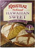 Krusteaz No Knead Hawaiian Sweet Artisan Bread Mix, 16-Ounce Boxes (Pack of 12)