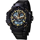 Youth outdoor sports watches/Mens waterproof fashion digital watch-A