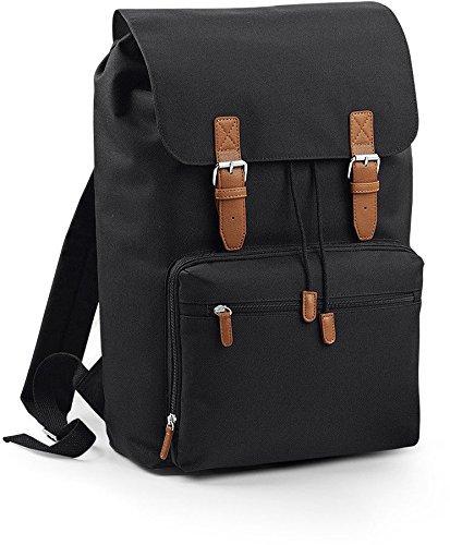 Bag Base Vintage Laptop Backpack Blau / Marine Laptoptasche Rucksack
