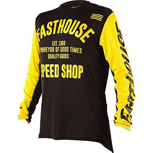 Black/Yellow Sz XXL Fasthouse FH Classic L1 Motocross Jersey