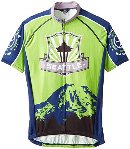 Canari Men's Seattle Jersey, Multi, Medium
