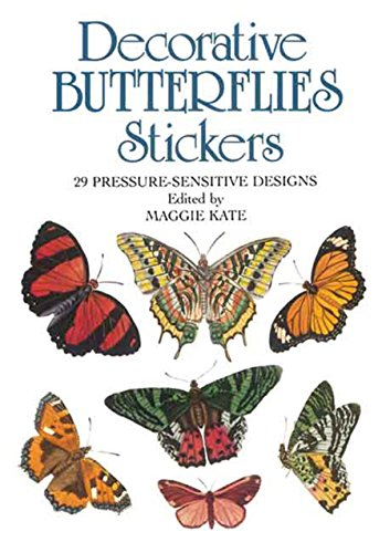 (Decorative Butterflies Stickers (Dover Stickers))