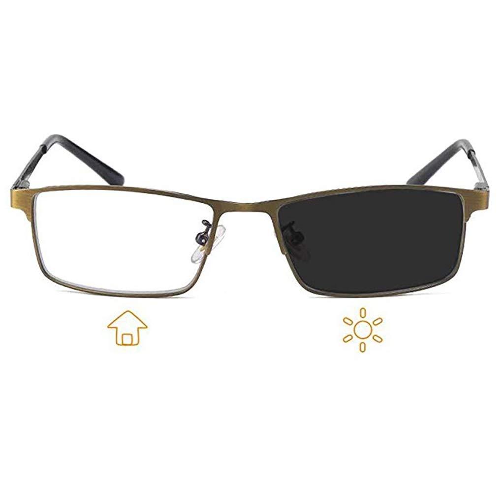 LEILIE Gafas de Lectura Que cambian de Color Gafas de ...