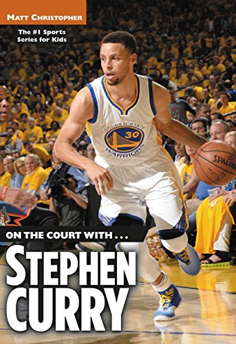 0a55a6841f6f Book Cover of Matt Christopher - On the Court with...Stephen Curry