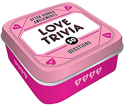 Chronicle Books After Dinner Amusements: Love Trivia: 50 Questions