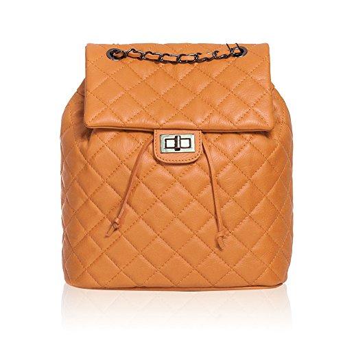 #MYITALIANBAG 71077 - Bolso mochila de Otra Piel para mujer cuero