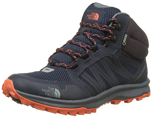 Mid Fastpack amp; Trekking THE Mehrfarbig Litewave Navy Damen Orange Urban Tex Wanderstiefel NORTH Nastrtium FACE Gore SUqXAI