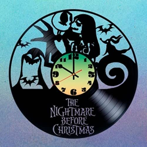 Cool Nightmare Before Christmas Gifts: Amazon.com: Disney Jack Skellington HANDMADE Vinyl Record