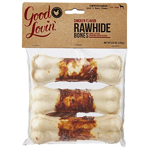 Good Lovin Chicken Compressed Rawhide product image