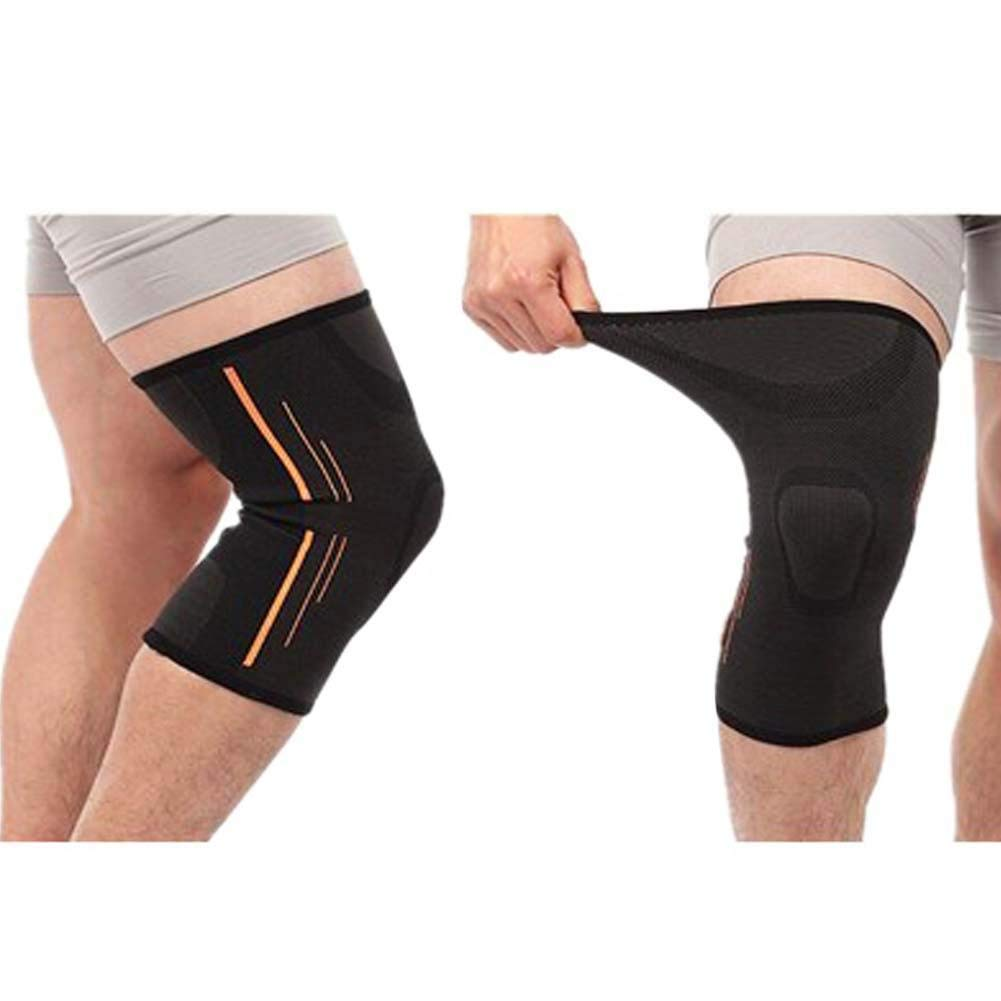 Professional Athletics Knee Compression Sleeve Knee Brace Knee Pads 2-Pack,#a8