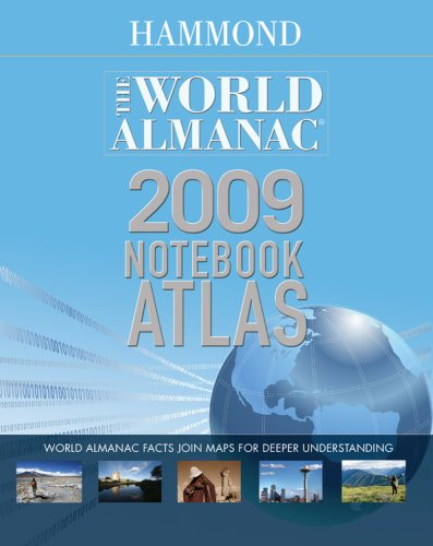 2009 World Almanac Notebook Atlas