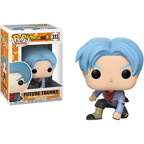 Future Trunks: Funk o Pop! Animation Vinyl Figure Bundle with 1 Compatible