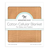 #8: Cellular Blanket, Premium Cotton, Butterum