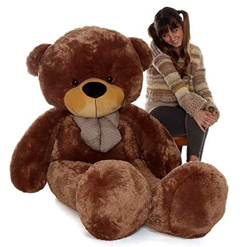 Sprinkles Teddy Bear  4 Feet/121 cm, Dark Brown