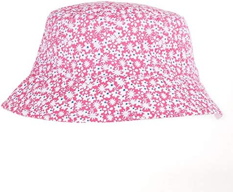 Fenside Country Clothing Young Girls Ditsy Floral Print Bush Sun Hat Perfect for Summer Holidays