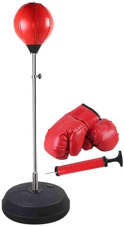 Pro Box Speed Ball Bag Boxing Training PU Red