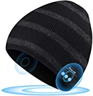 Bluetooth Beanie, Bluetooth Hat Women Mens Gifts for Christmas