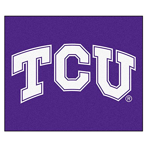 (NCAA Texas Christian University Horned Frogs Tailgater Mat Rectangular Outdoor Area Rug)