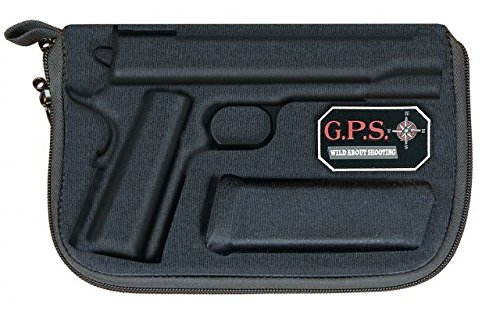 G. Outdoor Products G.P.S. GPS-908PC Pistol Case Compression Molded 1911, One Size