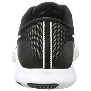 Nike Men's Flex Contact Running Shoes Black White