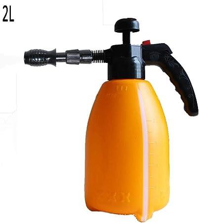 TYTZSM Rociadores de Agua a presión de Bomba - Rociador de jardín de Mano para Productos químicos y pesticidas de Agua (Color : Orange, Size : 2L): Amazon.es: Hogar
