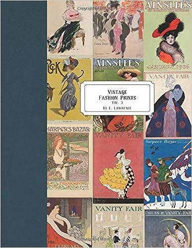 Vintage Fashion Prints: Vol. 3