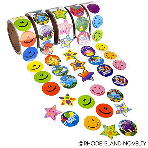 Sticker Roll Assortment 10 rolls