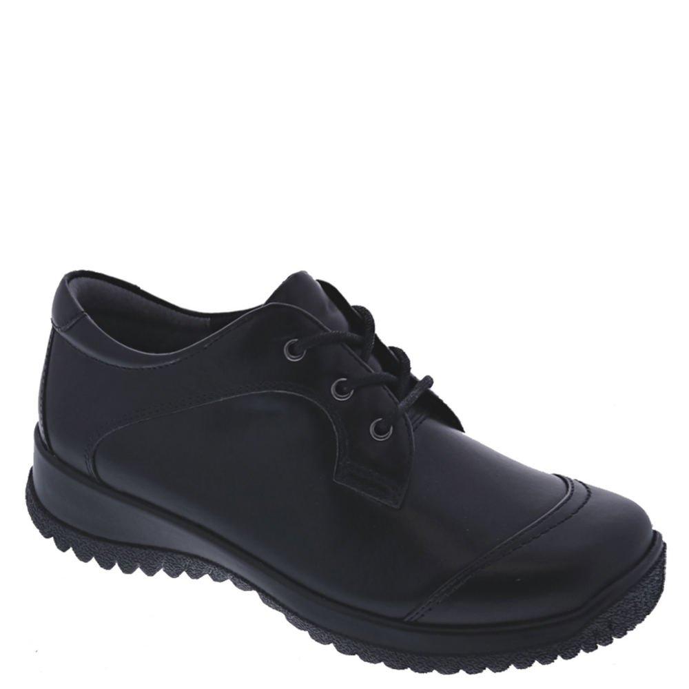 Drew Shoe Women's Hope Therapeutic Fashion Oxfords, Black, Leather, 7.5 W