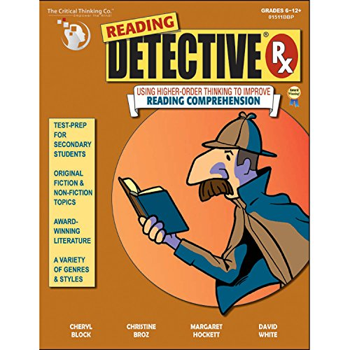 Reading Detective Rx (Problem Solving Questions For Adults Speech Therapy)