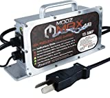 MODZ Max48 15 AMP Charger for 48 Volt Golf Carts with Crowfoot Plug