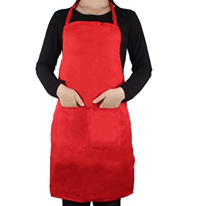 omg unisex menwomens apron with 2 pockets chefs kitchen cooking baking home cleaning accessories - Chefs Kitchen 2