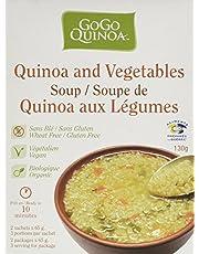 GoGo Quinoa Soup-Quinoa and Vegetables Soup, 130 g