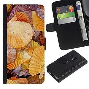All Phone Most Case / Oferta Especial Cáscara Funda de cuero Monedero Cubierta de proteccion Caso / Wallet Case for Samsung Galaxy S3 MINI 8190 // Romantic Seaside Sea Biology