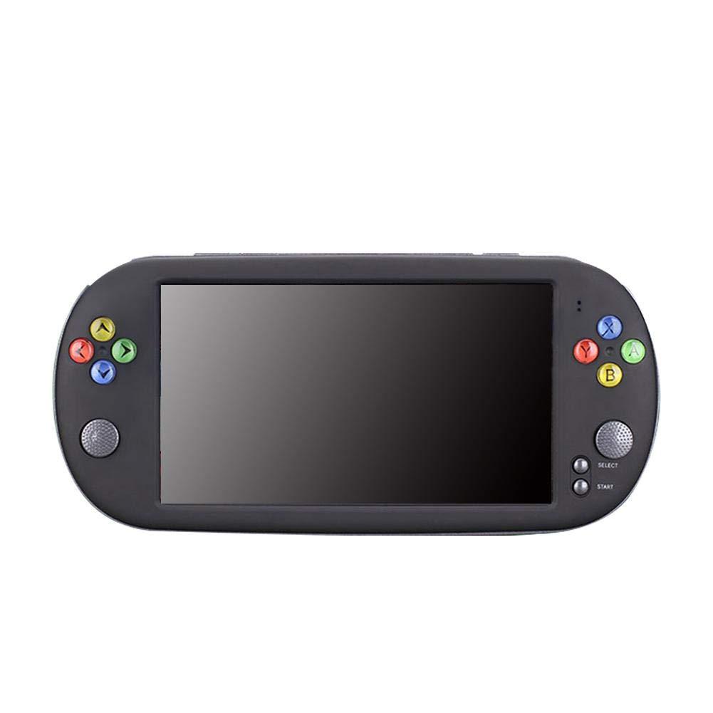 Fuitna Handspielkonsole, PSP X16 Klassischer Retro-Gaming-Player Retro-Gaming-Player Retro-Gaming-Player mit 7-Zoll-HD-Handheld-BA-Arcade-Spiel NES FC 8e06bb