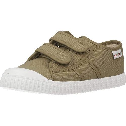 Victoria Basket Lona Dos Velcros - Zapatillas Unisex niños: Amazon.es: Zapatos y complementos