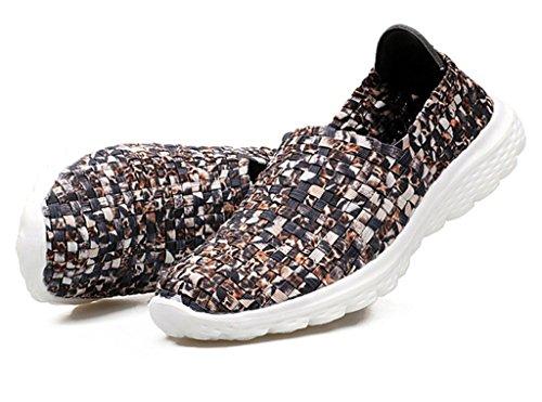 GFONE - Zapatos de tacón  mujer Brown2
