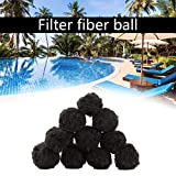 miniflower Pool Filter Balls 200/500 / 700g Eco-Friendly Fiber Filter Lightweight High Strength Durable Swimming Pool Cleaning Media for Swimming Pool Sand Filters
