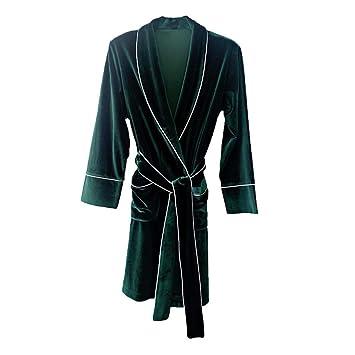 Lostryy Camisón para Mujer/Pijamas/Bata Larga/Albornoz/Ropa de casa de Terciopelo Suelto/Ropa Interior/Ocio/Confort Deportivo, Verde, XL: Amazon.es: Hogar