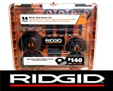 jobmax blades - New Ridgid 14 Pc Jobmax Multi-Tool Accessory Cutting Grinding Blade Kit Ac24j14