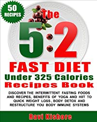 The 5:2 Fast Diet Under 325 Calories Recipes Book: Your Top