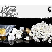 25 Montana + NY Fats + Thins Premium Spray Paint Caps Tipmix 2
