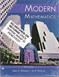 Modern Mathematics, Wheeler, 078724869X