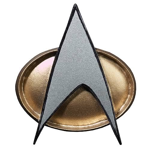 Star Trek Starfleet 2360S Combadge Replica