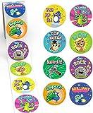 Reward Stickers for Kids by Sweetzer & Orange